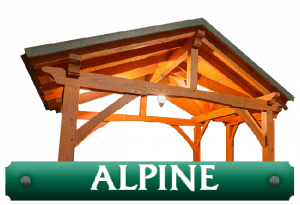 Alpine kit timber frame logo