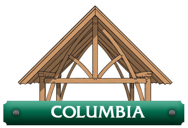 Columbia kit timber frame logo