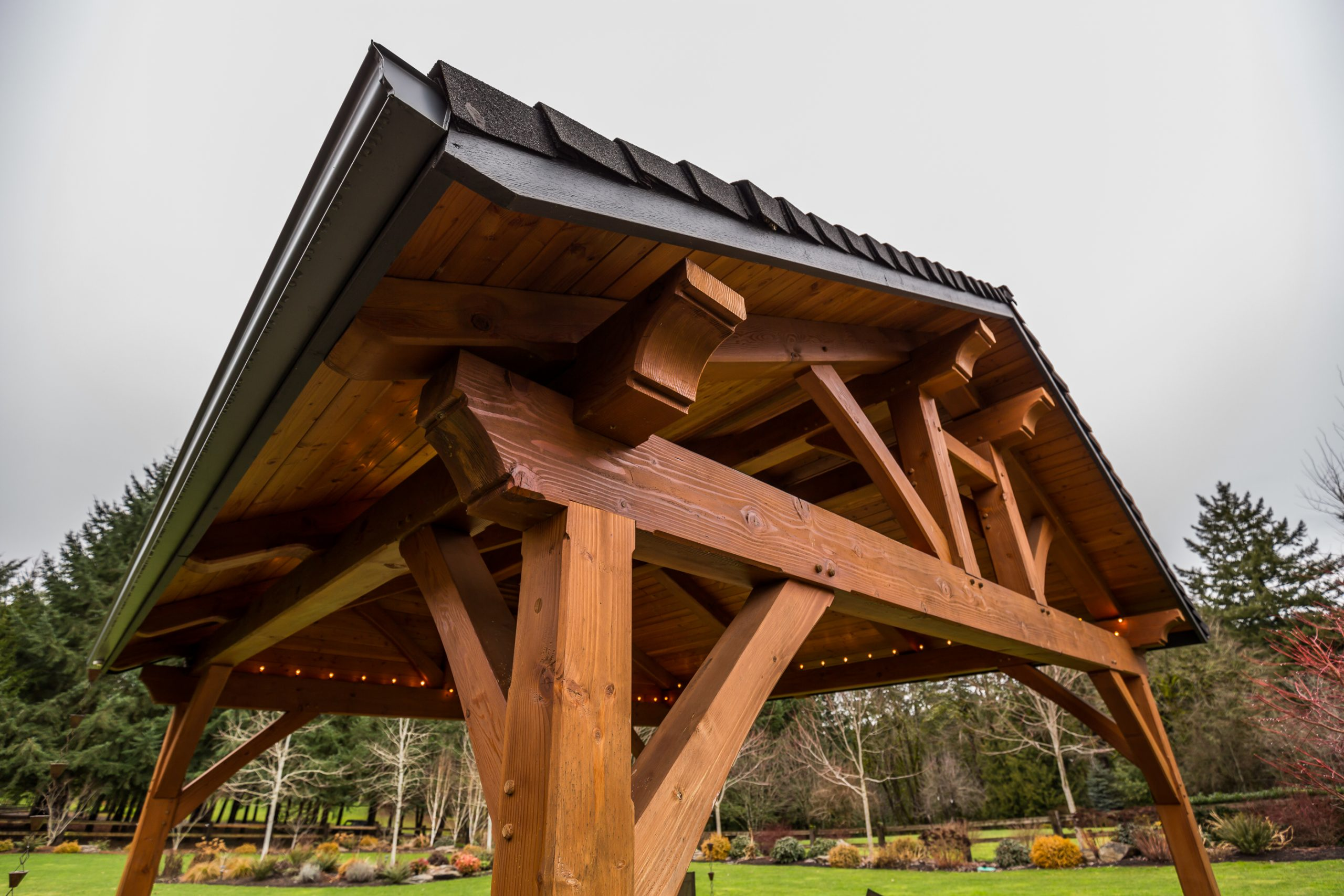 The Hogan Timber Frame in Damascus, OR