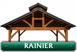 rainier kit timber frame logo
