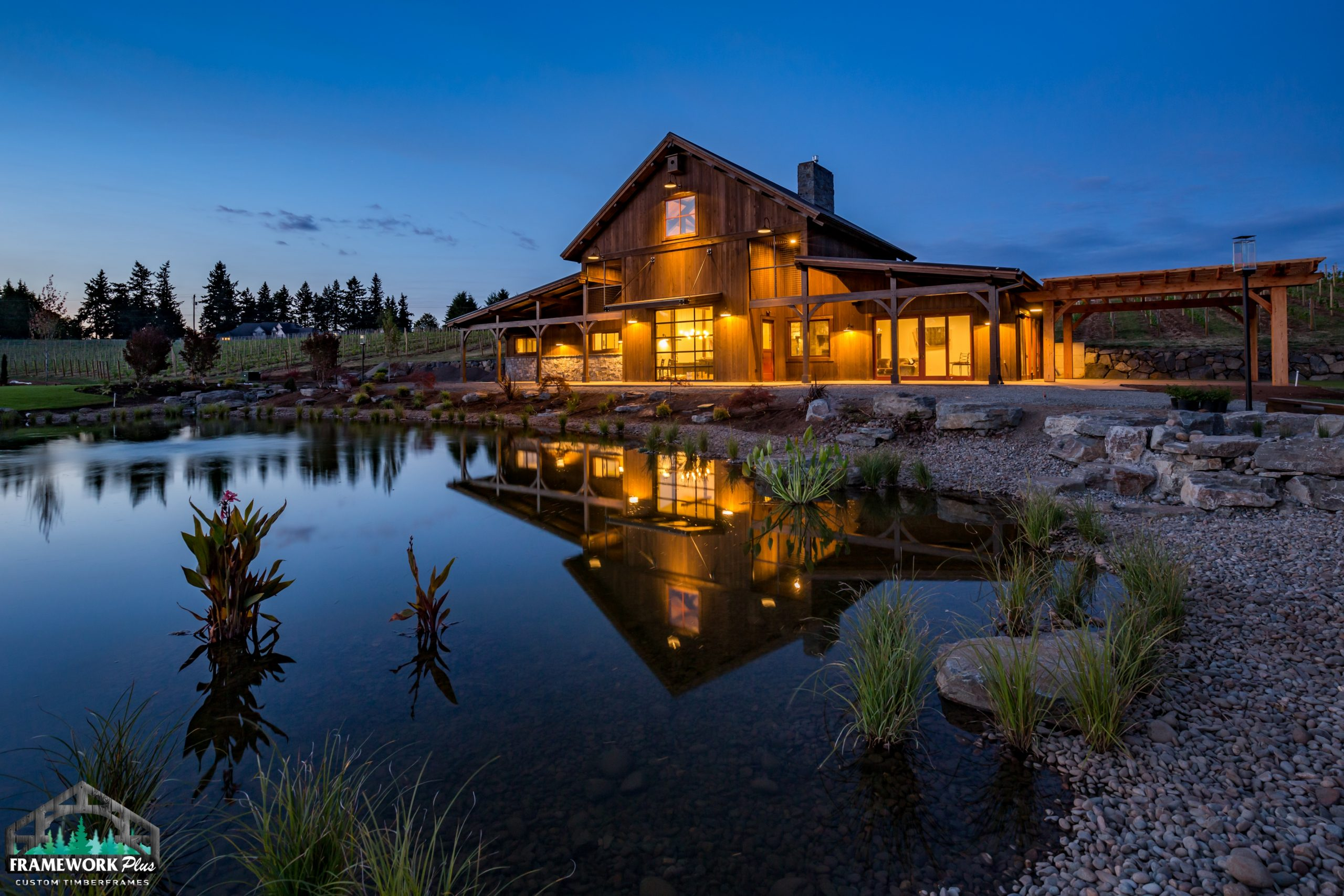 Barrel House Lakeside View 1