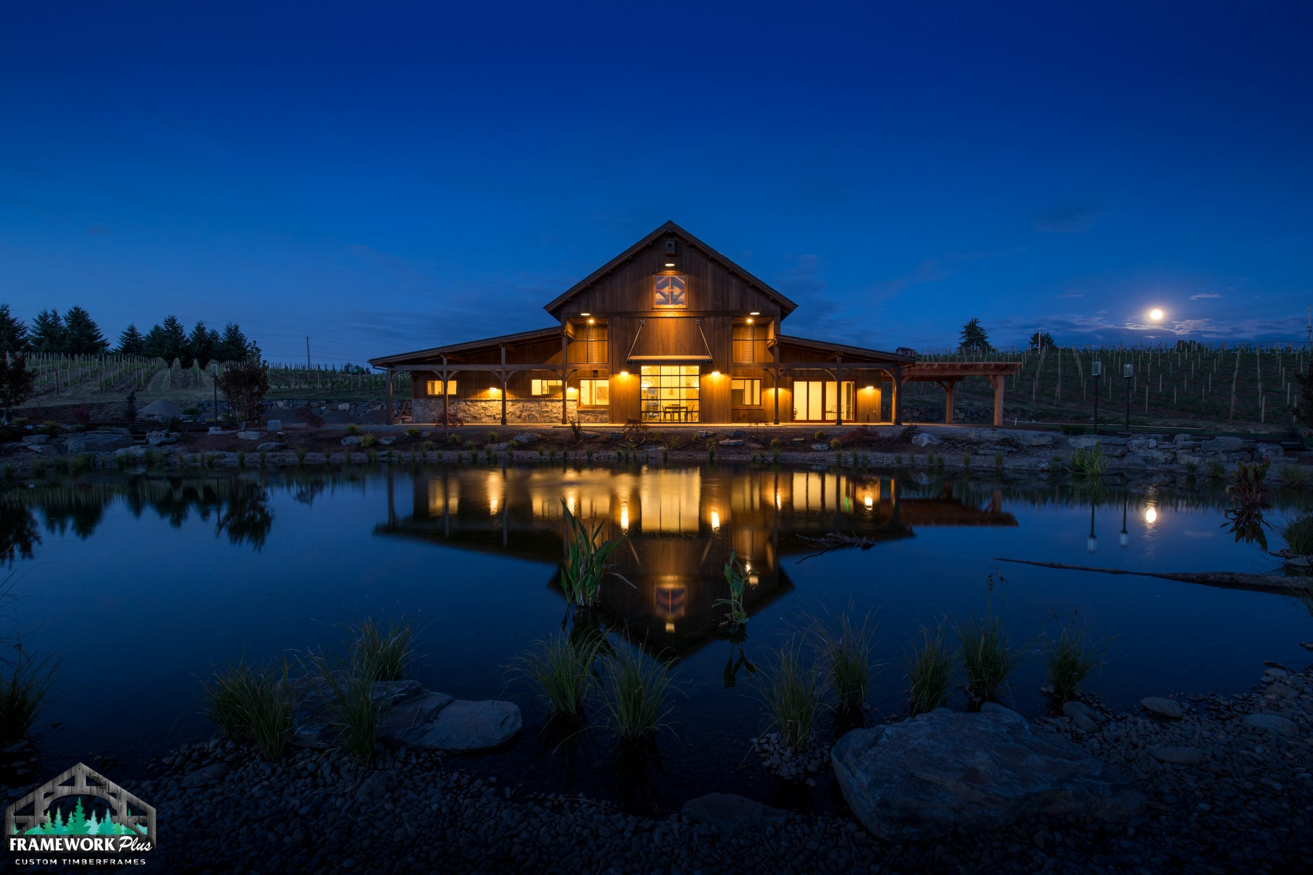 Barrel House Lakeside View 3