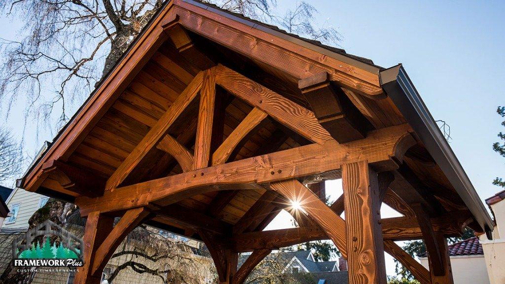 Timber Frame Exterior Tolman