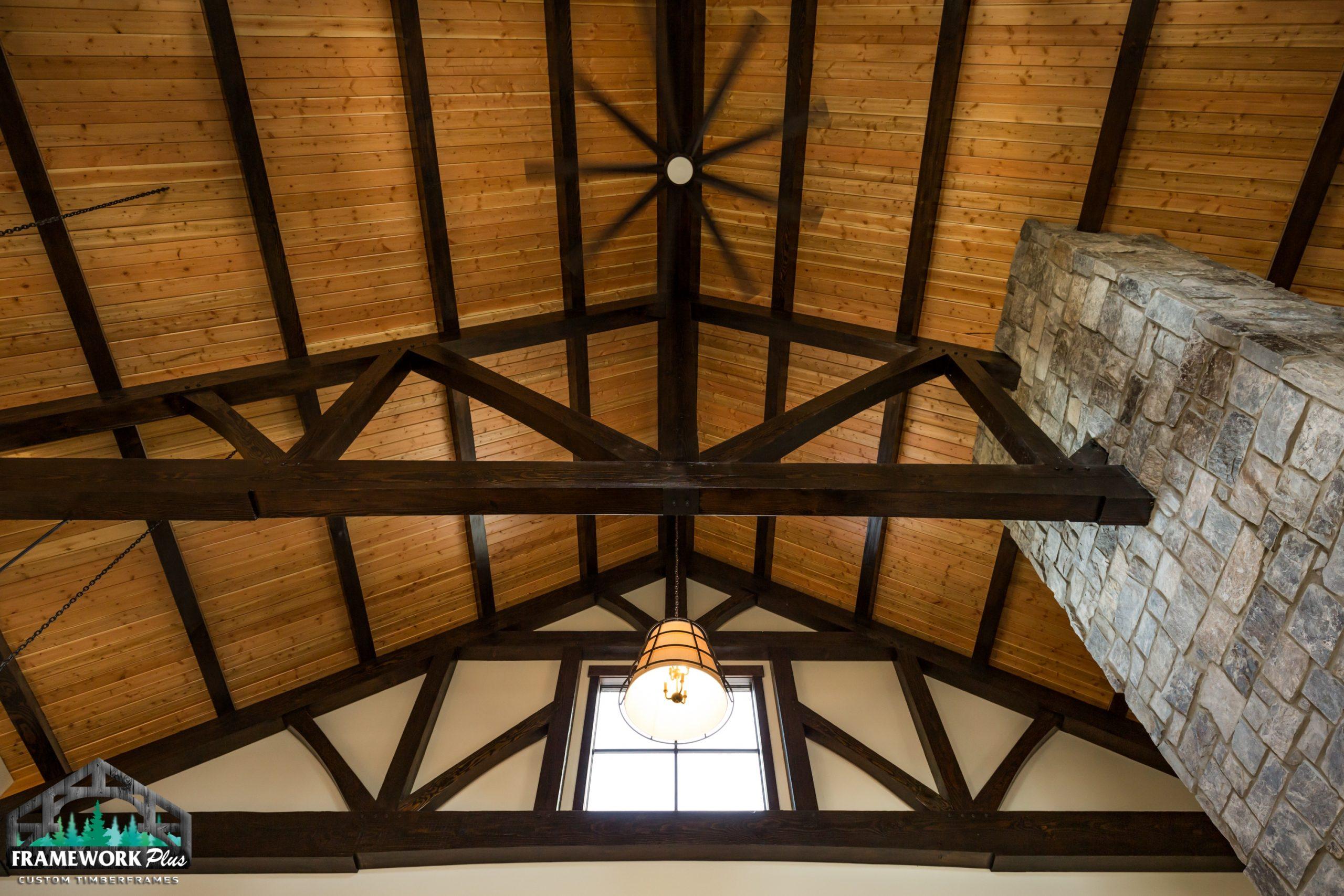 Barrel House Interior Ceiling
