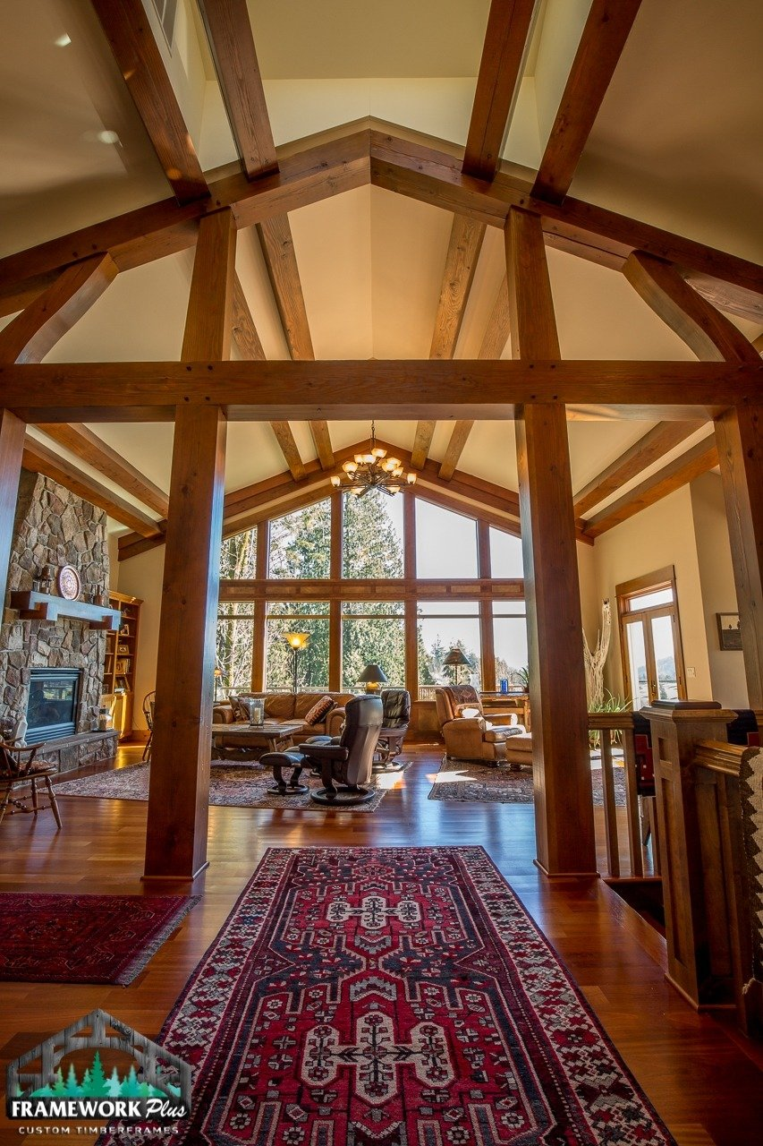 Gresham, OR Hybrid Home Trusses and Window View