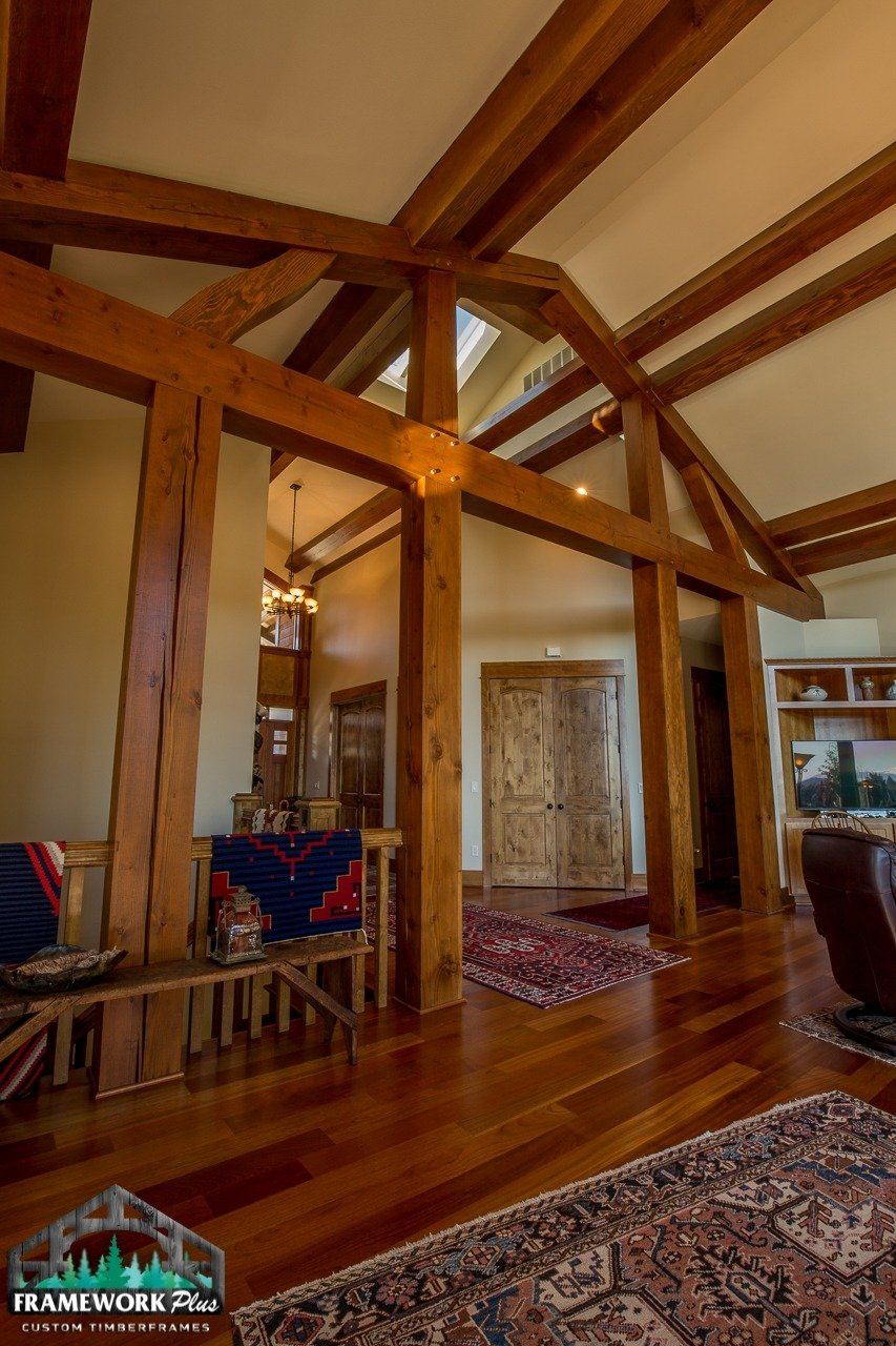 Gresham, OR Hybrid Home Trusses and Beams