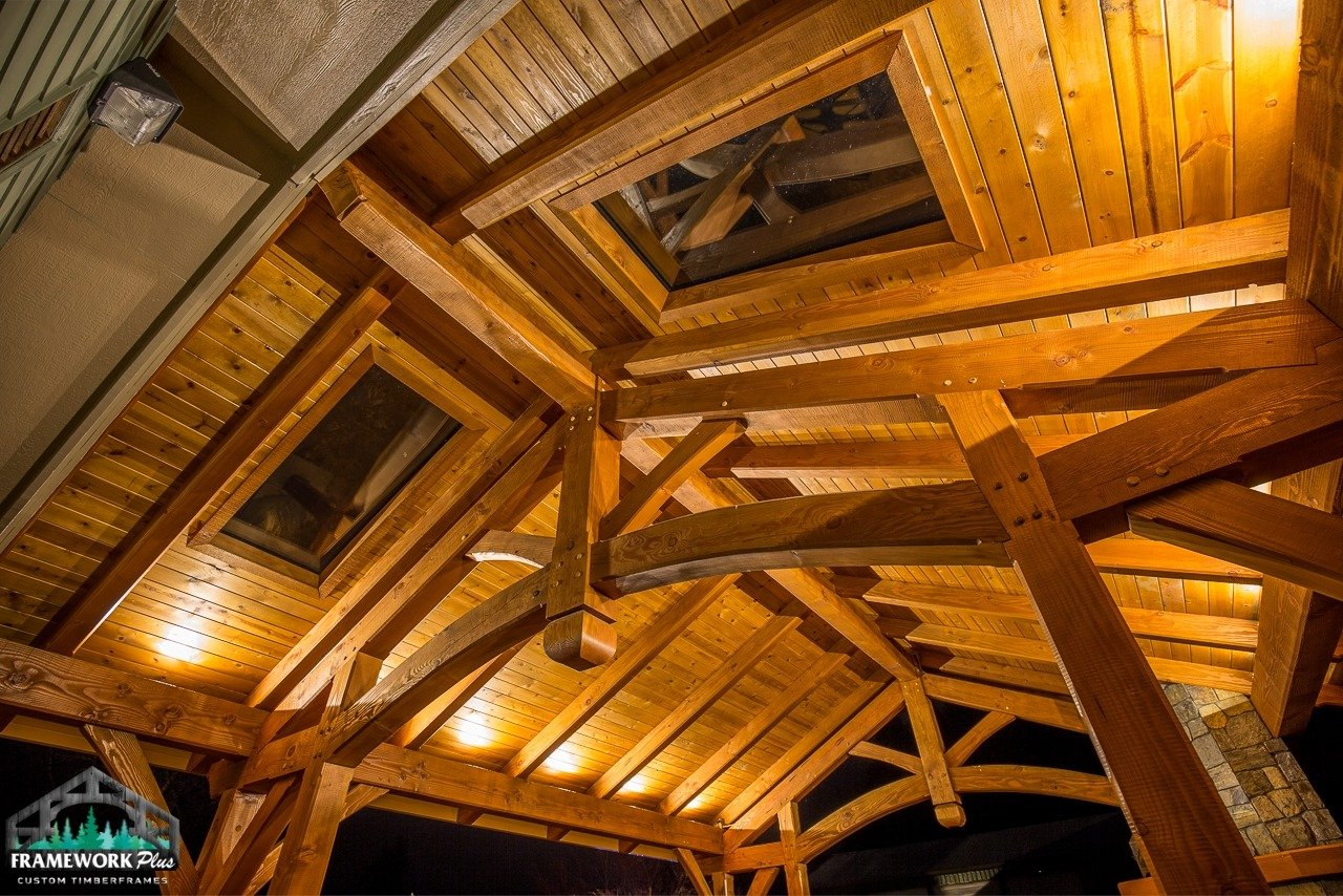 Damascus, OR Patio Cover Interior Ceiling Skylights