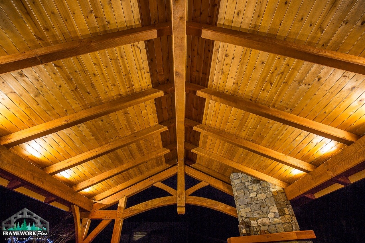 Damascus, OR Patio Cover Ceiling