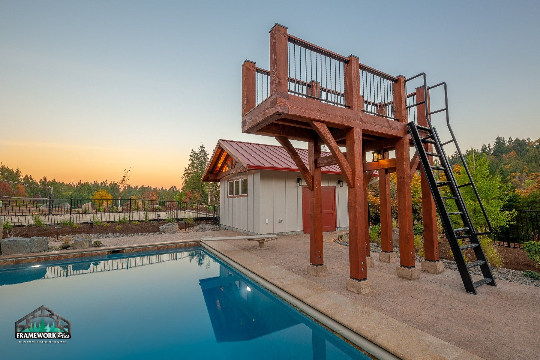 Willamette Valley, OR Diving Board