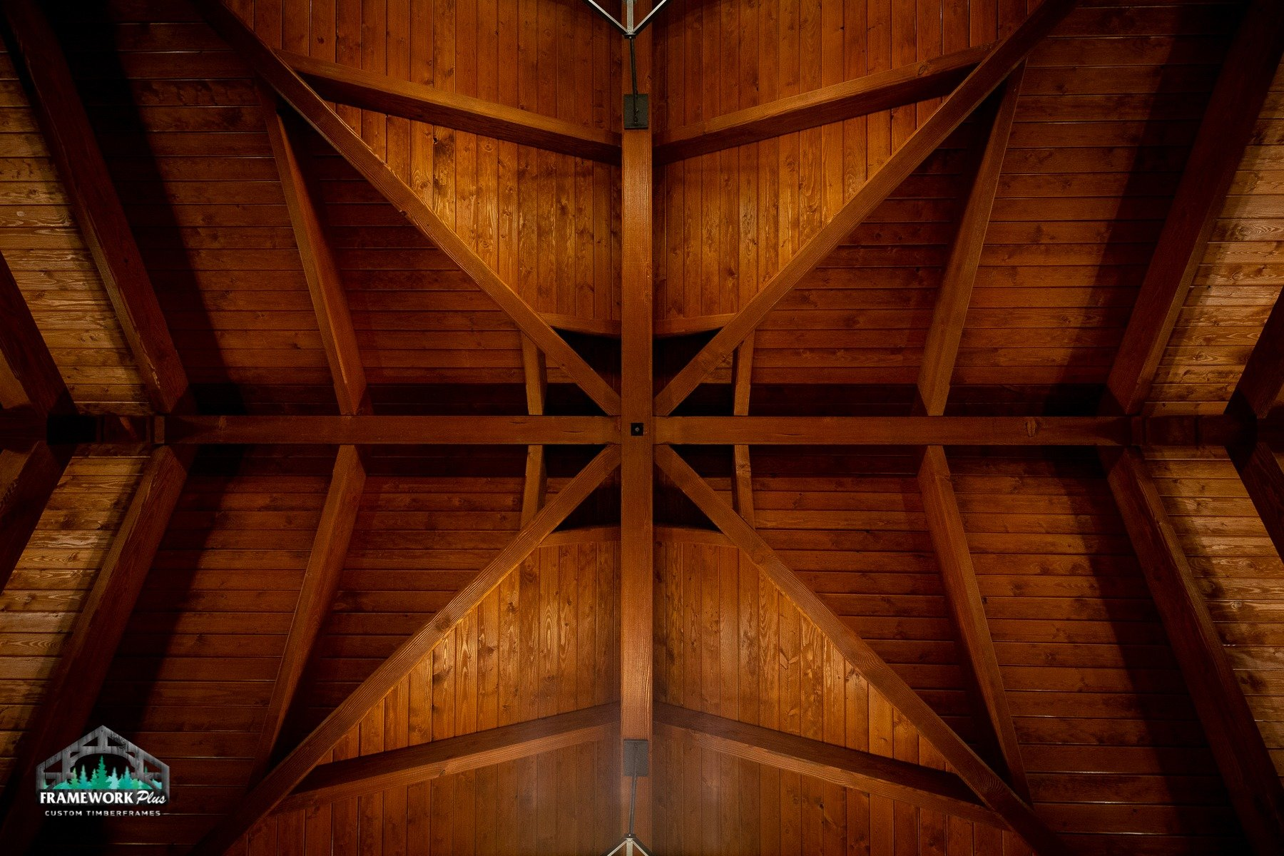 Willamette Valley, OR Pavilion Ceiling
