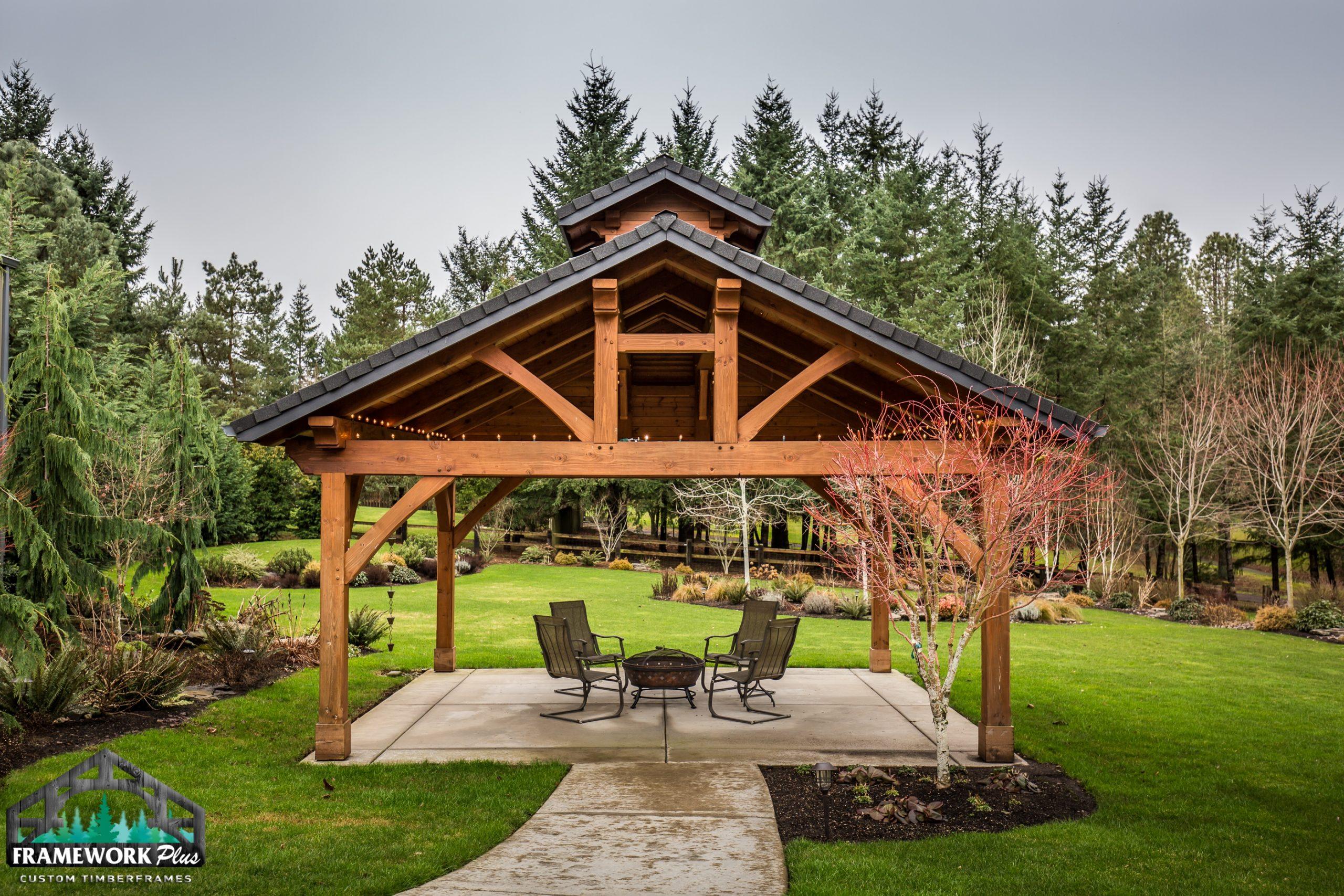 Boring, OR Pavilion Full Truss