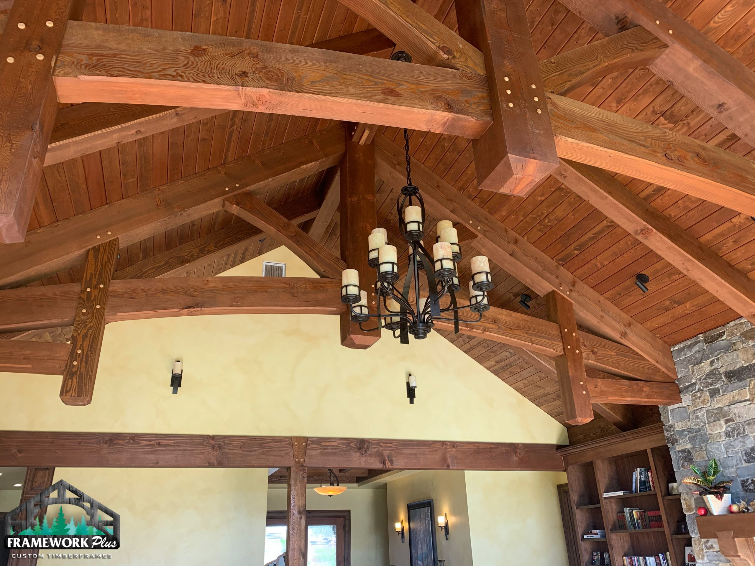 Hood River, OR Hybrid Home Interior Truss