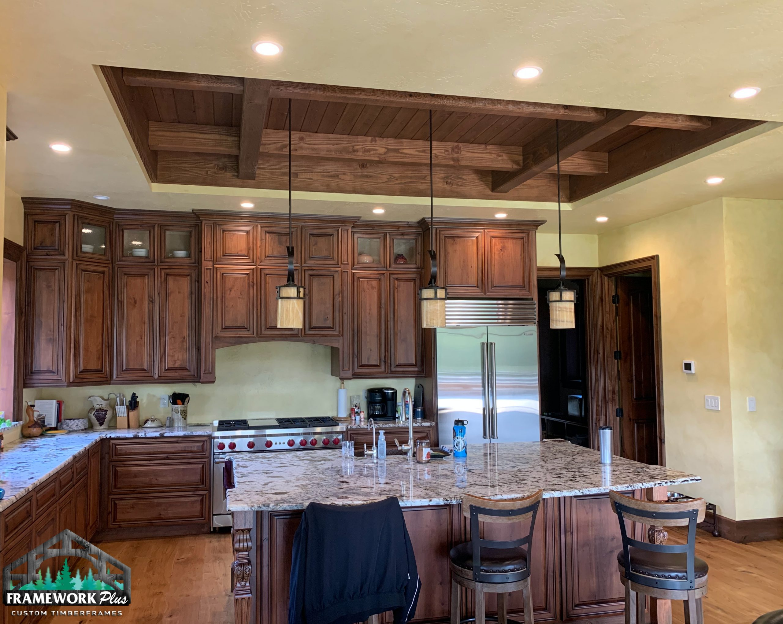 Hood River, OR Hybrid Home Kitchen Interior Build In
