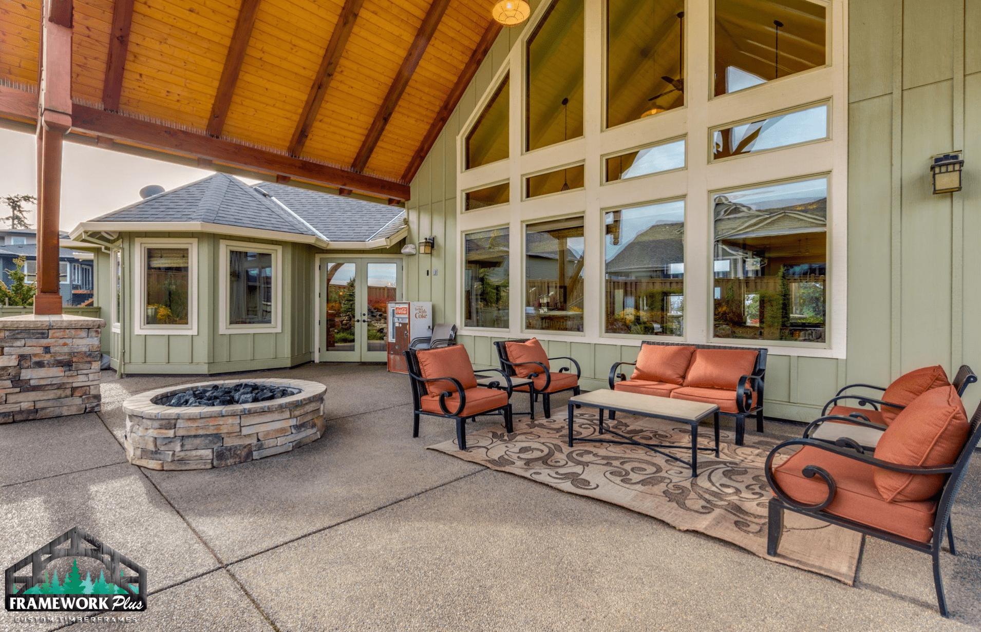 Oregon City, OR Patio Cover Roof Interior