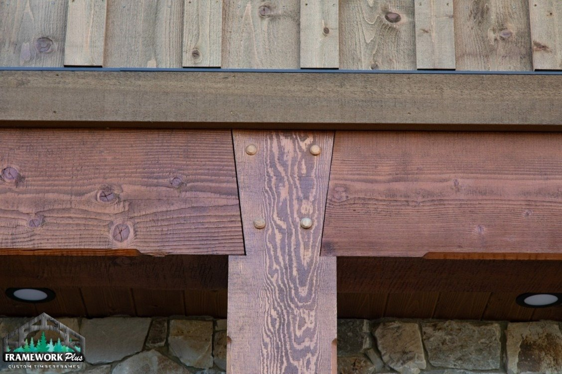 Hood River, OR Hybrid Home Exterior Mortise and Tenon
