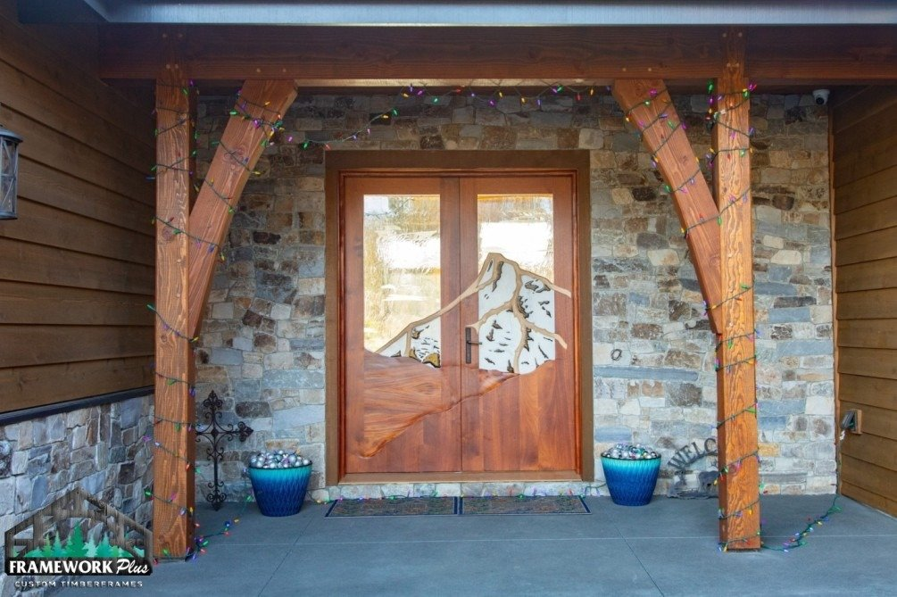 Hood River, OR Hybrid Home Exterior Door and Entryway Front